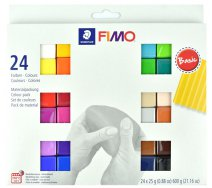 Fimo soft Basic, sada 24 x 25 g