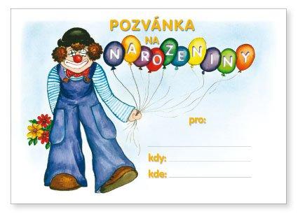 pozvánka na narozeniny dětská Pozvánka, narozeniny   OPTYS.cz pozvánka na narozeniny dětská