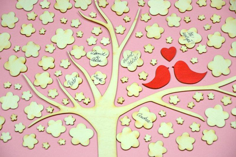 Svatebni Strom S Ptacky Dreveny Optys Cz
