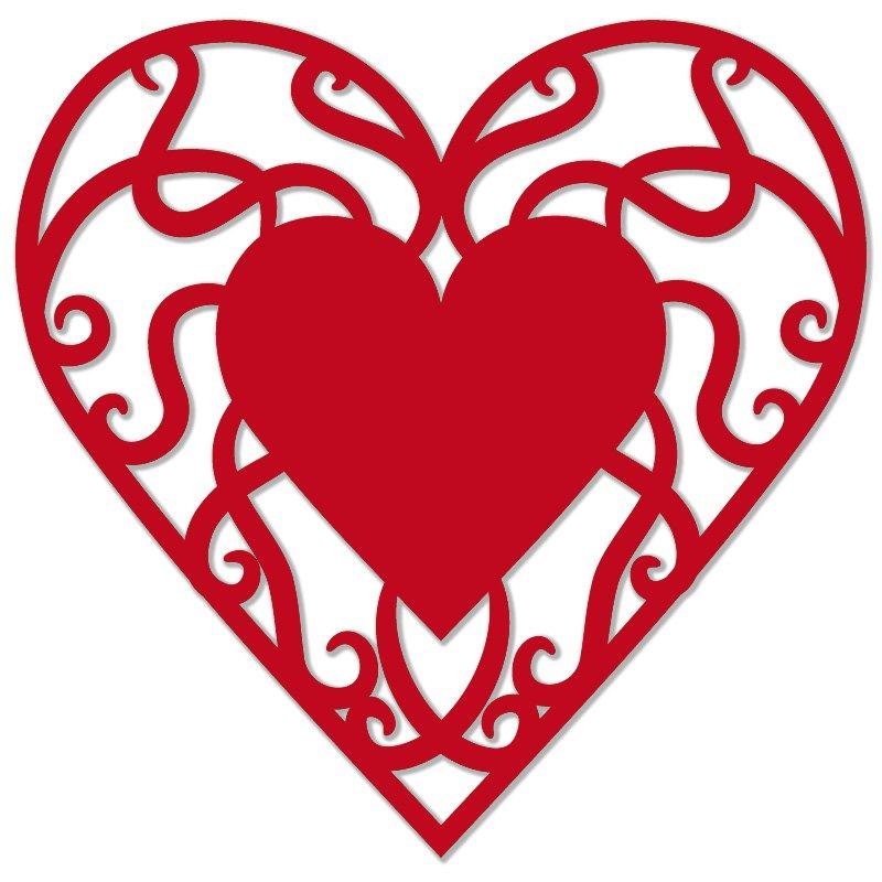 Vyrez Filigran Male Srdce Cervena 20 Ks Optys Cz