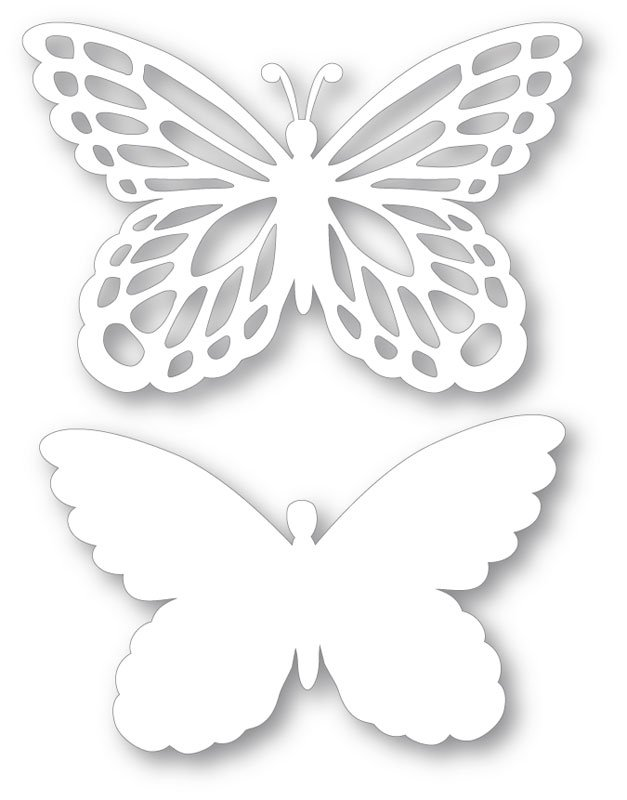 Vyrez Motyl Pr 19cm 2 Ks Optys Cz