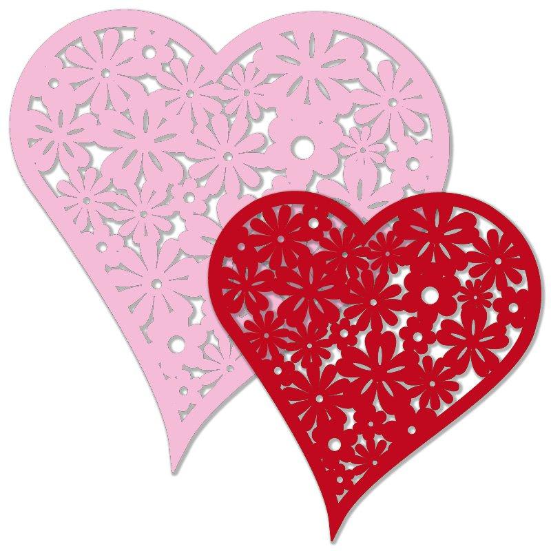 5b5537a52c3f Výřez květinové srdce červené růžové