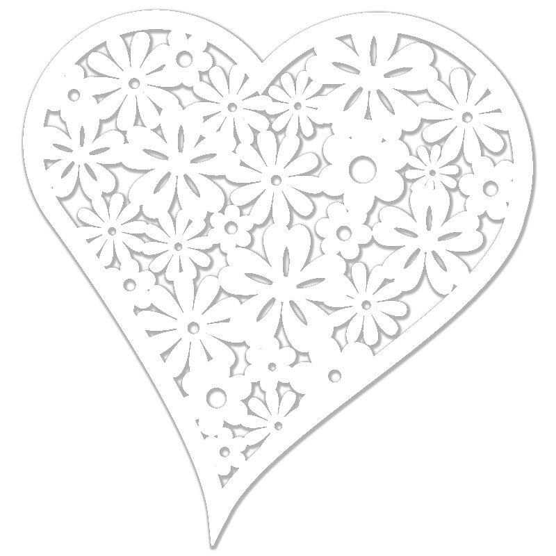Vyrez Kvetinove Srdce Bile 12 Ks Optys Cz